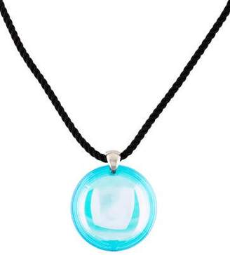 Baccarat Eclipse Iridescent Pendant Necklace