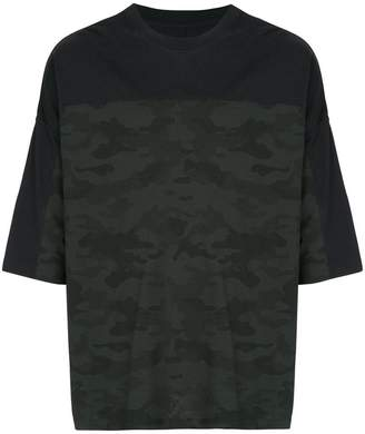 Unravel Project military printed T-shirt