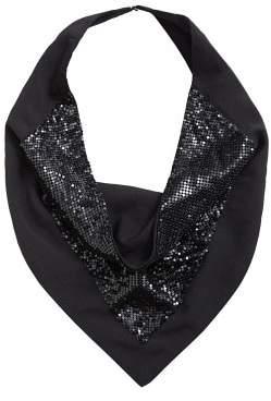 MANGO Sequin scarf