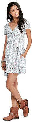 Ralph Lauren Denim & Supply Floral Button-Front Dress $98 thestylecure.com