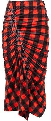 Preen by Thornton Bregazzi gingham gathered skirt