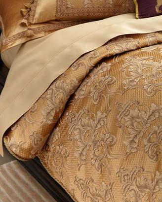 Dian Austin Couture Home King Camilla Damask Duvet Cover