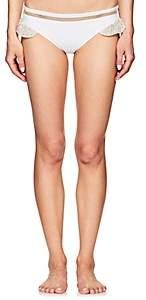 She Made Me Women's Lily Bikini Bottom - White