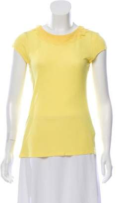 Ted Baker Yellow Short Sleeve Top
