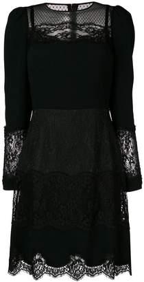 Dolce & Gabbana lace panel dress