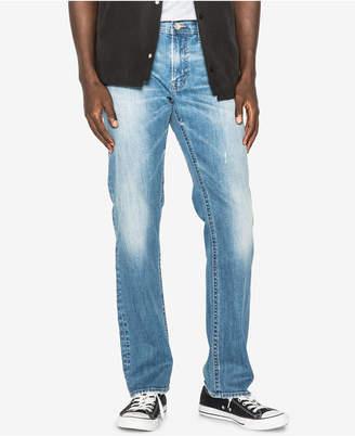 Silver Jeans Co. Men's Allan Straight Fit Faded Jeans