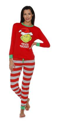 Dr. Seuss MJC The Grinch Ladies Pajamas for Women 29f981a49