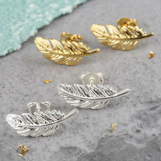 0bcfff6c5 Rose Feather Earrings - ShopStyle UK