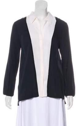 A.L.C. Silk Button-Up Blouse