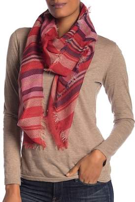 Collection XIIX Twill Stripe Square Scarf