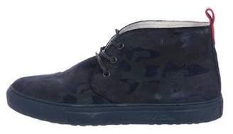 Del Toro Camo Chukka Sneakers