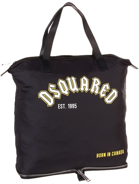 DSquared DSQUARED2 - Chris Shopper Bag (Black) - Bags and Luggage