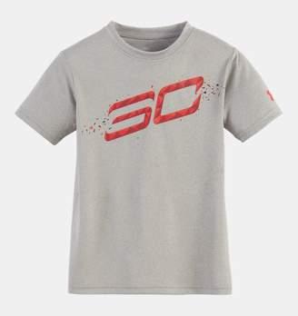 Under Armour Boys' Pre-School SC30 Player Short Sleeve Shirt