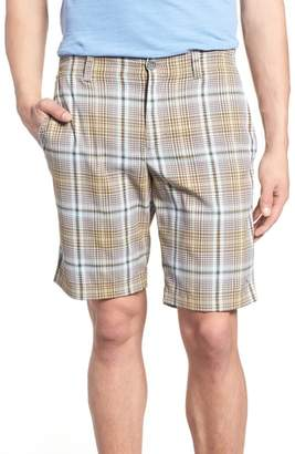 Tommy Bahama Playa Tech Classic Fit Plaid Shorts