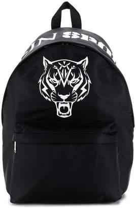 Plein Sport contrast Tiger backpack