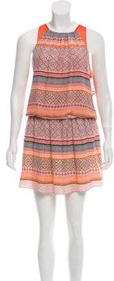 Ramy Brook Printed Silk Dress