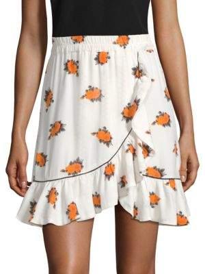 Ganni Roseburg Crepe Skirt