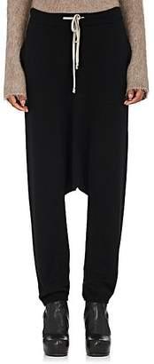 Rick Owens Women's Drop Rise Virgin Wool Drawstring Pants - Black