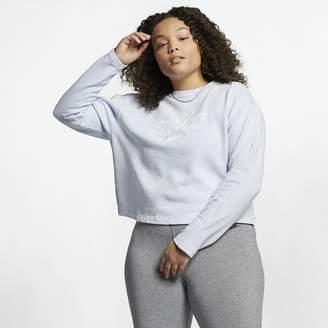 Nike Womens Cropped Crew (Plus Size Sportswear