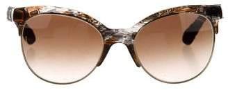 Chanel Pantos Quilting Sunglasses