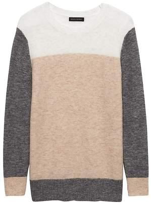 Banana Republic Aire Color-Block Crew-Neck Sweater