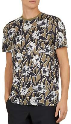 Ted Baker Camp Floral Crewneck Tee