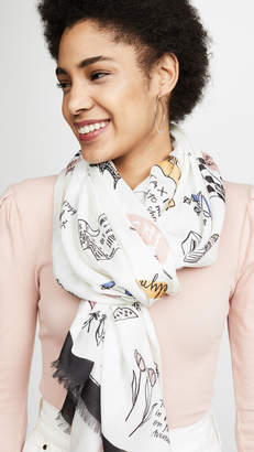 Kate Spade NYC Culture Scarf