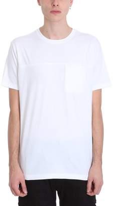 MHI Pocket Black Cotton T-shirt