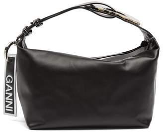 Ganni Rectangular Leather Cross-Body Bag