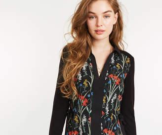Oasis FLORAL WOVEN SHIRT DRESS
