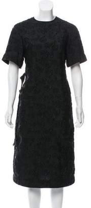 Calvin Klein Jacquard Floral Dress w/ Tags