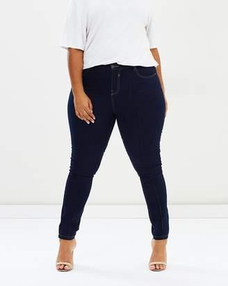Evans Pintuck Skinny Jeans