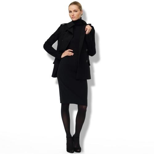 Ralph Lauren Black Label Emilia Stretch Crepe Skirt