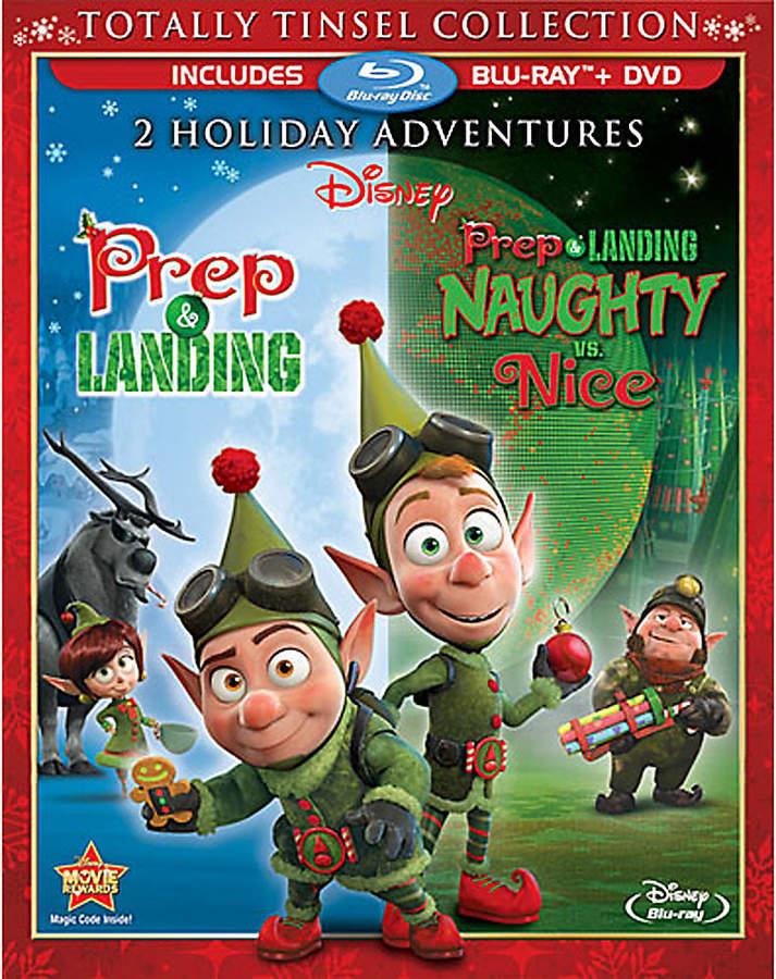 Disney Prep & Landing: Naughty vs. Nice Blu-ray and DVD Combo Pack