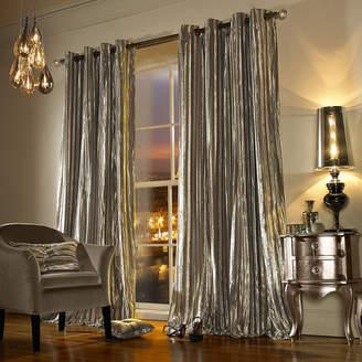 Iliana Lined Eyelet Curtains