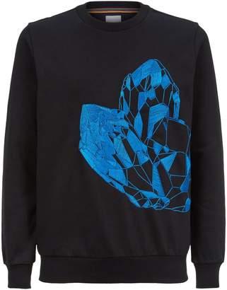 Paul Smith Explorer Crystal Sweatshirt