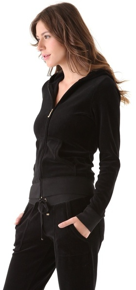 Juicy Couture Velour Original Zip Hoodie