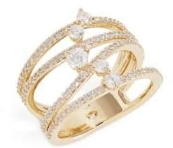 Nadri Fluidity Openwork Stone Ring
