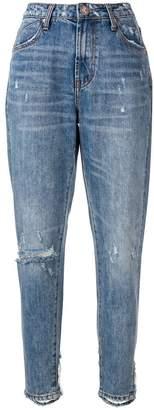 One Teaspoon distressed tapered jeans