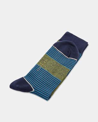 Ted Baker MYYRO Multi patterned cotton socks