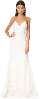 Katie May Poipu Low Back Gown $1,848 thestylecure.com