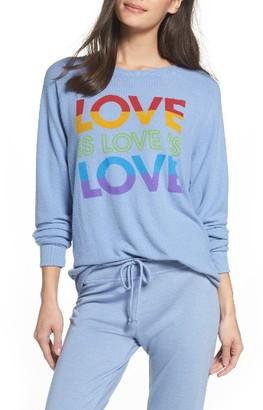 Women's Junk Food Love Sweatshirt $75 thestylecure.com