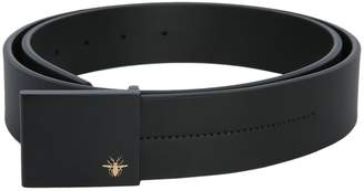 Christian Dior Belt With Metal Opaque Buckle