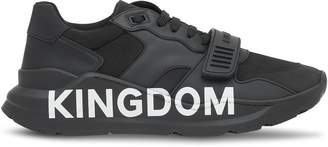 Kingdom print sneakers