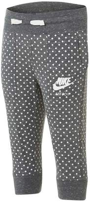 Nike Girls Gym Vintage Polka Dot Track Pants
