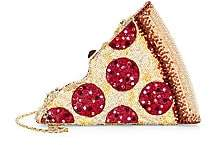 Judith Leiber Couture Women's Pizza Crystal Clutch