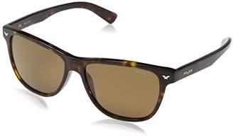 Police Men's S1953 Master 3 Wayfarer Sunglasses