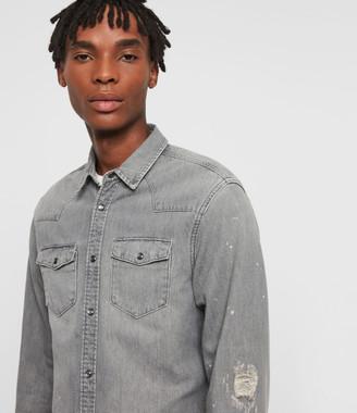 AllSaints Gino Denim Shirt