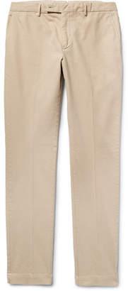 Hackett London Slim-Fit Garment-Dyed Stretch-Cotton Chinos