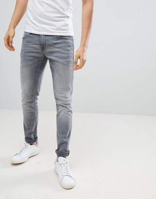 Blend of America Cirrus Skinny Jeans Gray